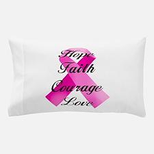 Pink Ribbon Pillow Case