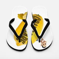 OBAMA SHUT UP Flip Flops