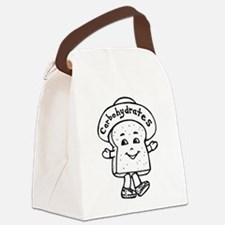 Happy Carb Canvas Lunch Bag