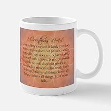 1 Corinthians Love Bible Verse Mug