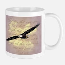 Wings as Eagles Bible Verse Mug