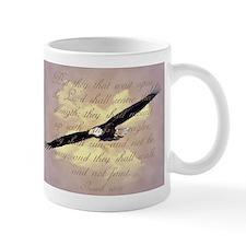 Wings as Eagles Bible Verse Small Mug