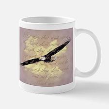 Wings as Eagles Bible Verse Small Small Mug