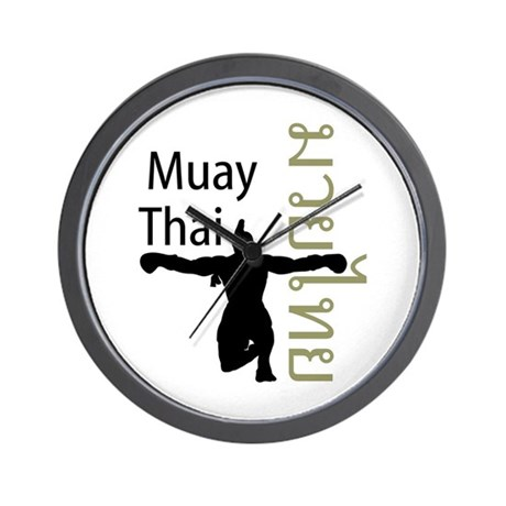 Muay Thai Wall Clock