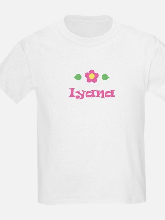 "Pink Daisy - ""Iyana"" Kids T-Shirt"