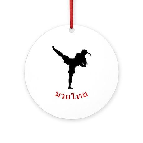 Muay Thai Ornament (Round)