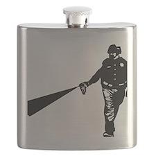 Cop Pepper - Street police violence Flask