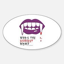 Vampire Mom Decal