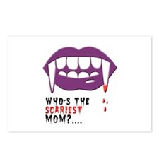 Vampire Mom Postcards (Package of 8)