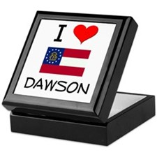I Love DAWSON Georgia Keepsake Box