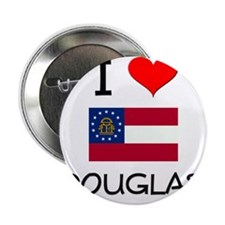 "I Love DOUGLAS Georgia 2.25"" Button"