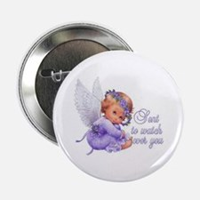 "Guardian Angel 2.25"" Button"