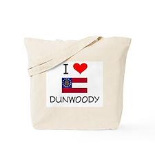 I Love DUNWOODY Georgia Tote Bag