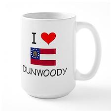 I Love DUNWOODY Georgia Mugs