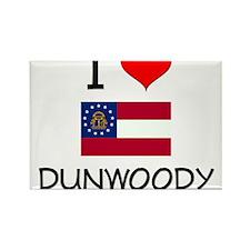 I Love DUNWOODY Georgia Magnets