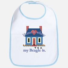 Beagle Home Is Bib