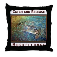 Musky<br>Throw Pillow