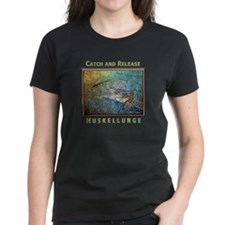 Muskellunge<br>Women's BlackT-Shirt
