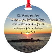 JEREMIAH 29:11 Ornament