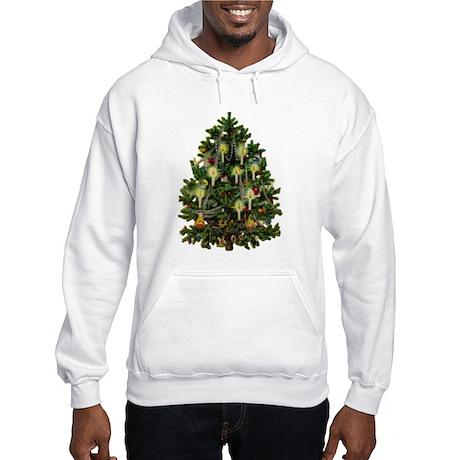 Vintage Christmas Tree Hoodie
