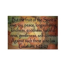 Fruit of the Spirit Photo Rectangle Magnet