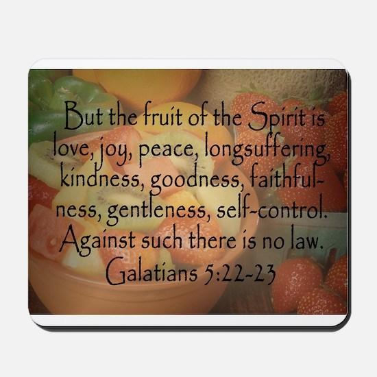 Fruit of the Spirit Photo Mousepad