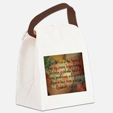 Fruit of the Spirit Photo Canvas Lunch Bag