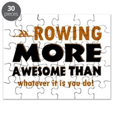 Awesome rowing designs Puzzle