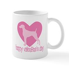 Weimaraner Valentine Mug