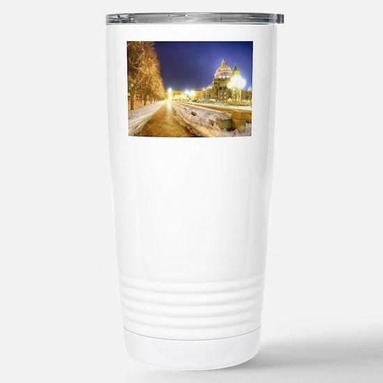 Greatest Building Ever Stainless Steel Travel Mug