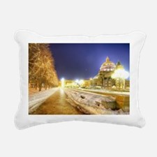 Greatest Building Ever Rectangular Canvas Pillow