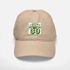 Lucky 30 - Baseball Baseball Cap