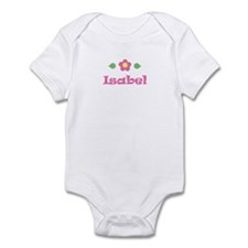 "Pink Daisy - ""Isabel"" Infant Bodysuit"