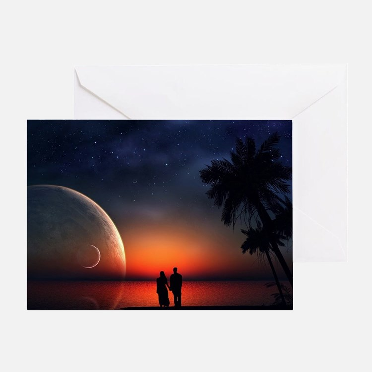 A Lovers Hands Greeting Card