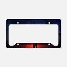 A Lovers Hands License Plate Holder