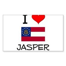 I Love JASPER Georgia Decal