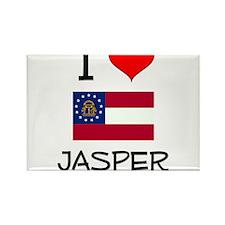 I Love JASPER Georgia Magnets