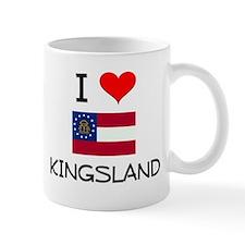 I Love KINGSLAND Georgia Mugs