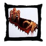 Halloween Zombie Throw Pillow