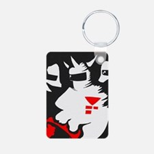 Starmen are Earthbound Aluminum Photo Keychain