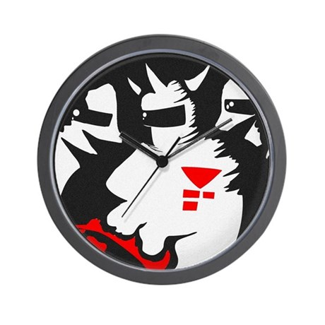 Starmen are Earthbound Wall Clock