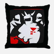 Starmen are Earthbound Throw Pillow