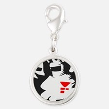 Starmen are Earthbound Silver Round Charm