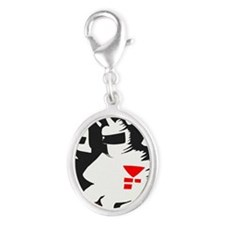Starmen are Earthbound Silver Oval Charm