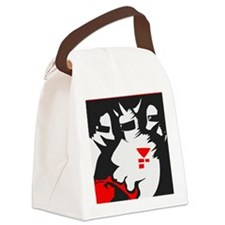 Starmen are Earthbound Canvas Lunch Bag