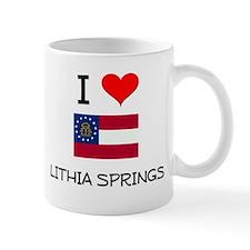 I Love LITHIA SPRINGS Georgia Mugs