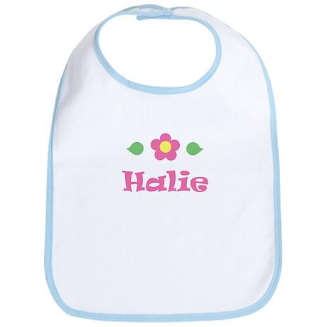 "Pink Daisy - ""Halie"" Bib"