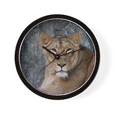 Lion008 Wall Clock