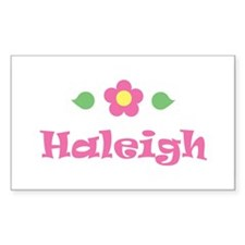 """Pink Daisy - """"Haleigh"""" Rectangle Decal"""