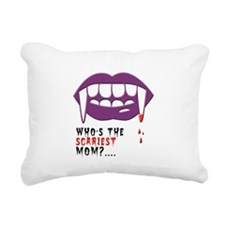 Vampire Mom Rectangular Canvas Pillow